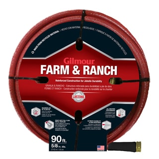 Gilmour 29058090 90 feet 6-Ply Farm & Ranch Hose