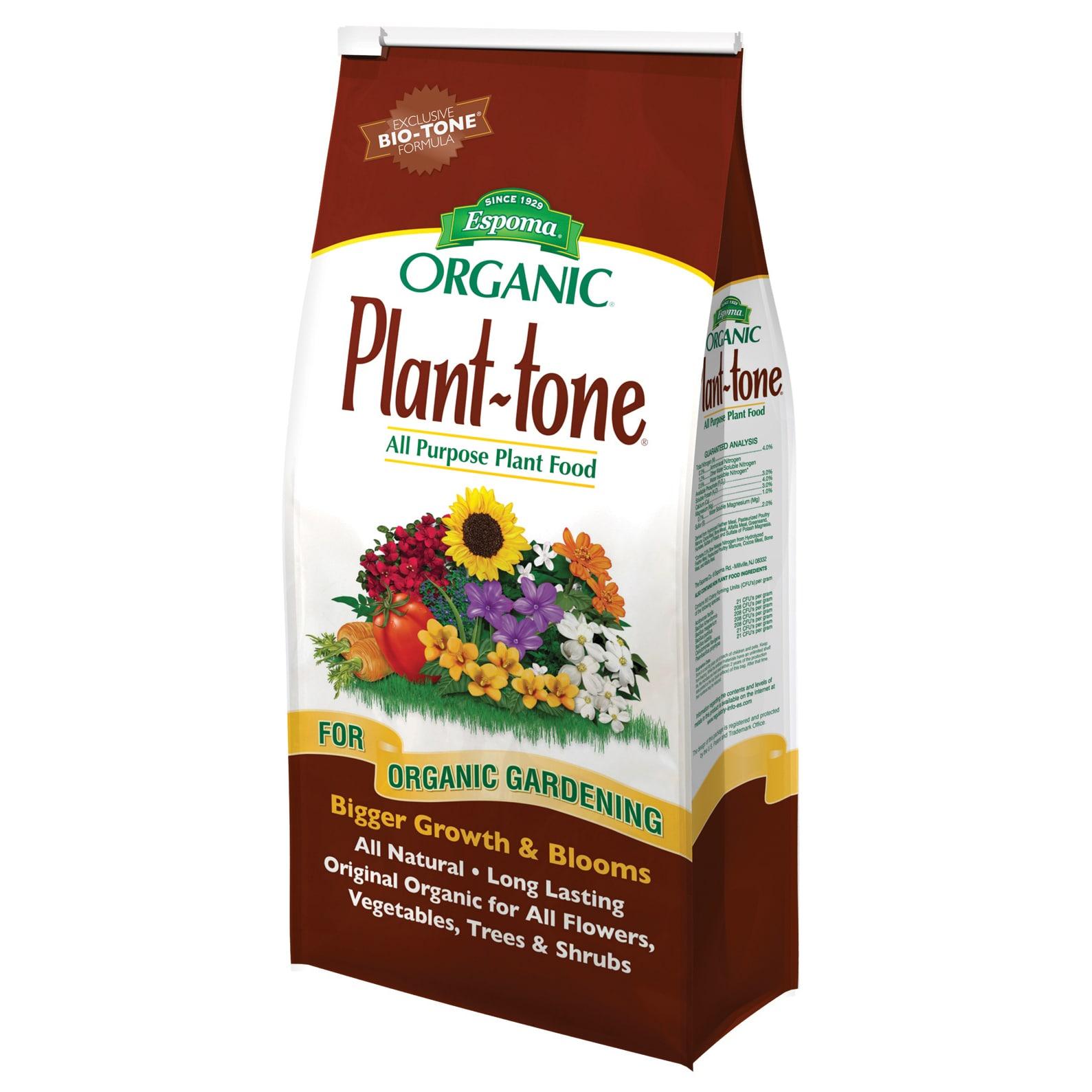 ESPOMA PT4 4-pounds Plant-tone Organic 5-3-3 Plant Food (...
