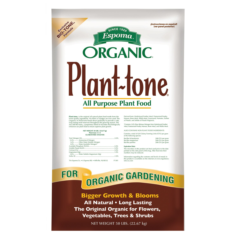 ESPOMA PT50 50-pound Organic Plant Tone All Purpose Plant...