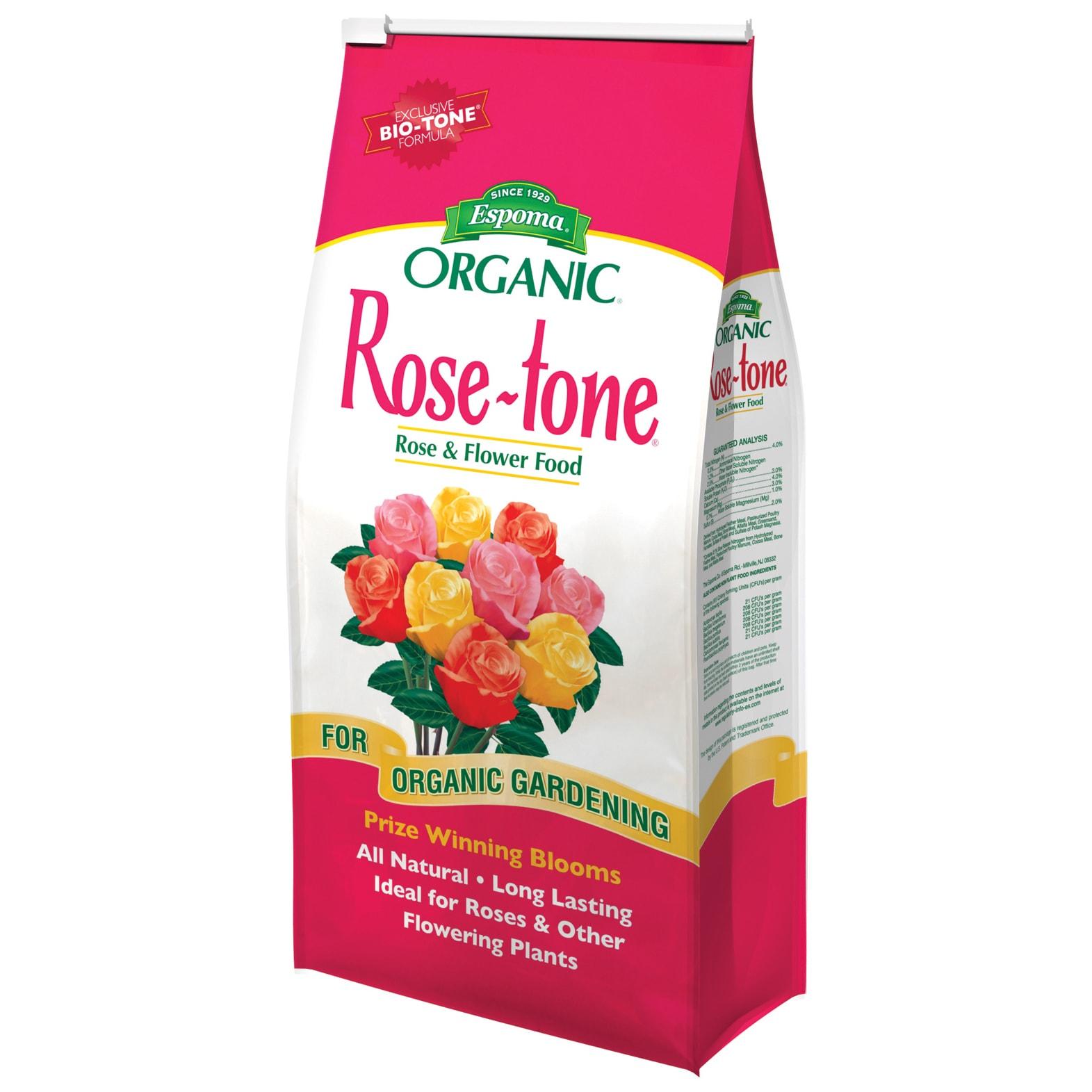 ESPOMA RT18 18-pound Rose Tone (Plant Food & Fertilizer),...