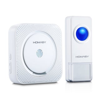 1000-foot Range Wireless Doorbell With 50 Chimes and 4-level Volume for Receiver