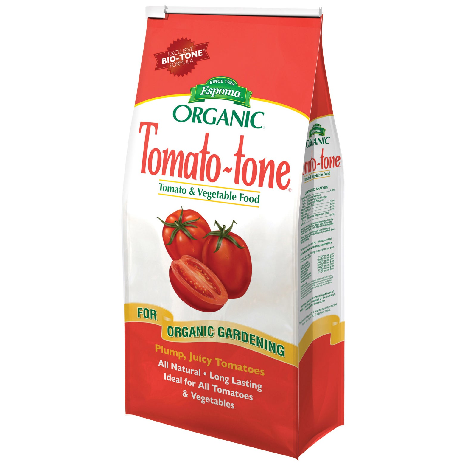 ESPOMA TO4 4-pounds Tomato-Tone 4-7-10 Plant Food (Plant ...