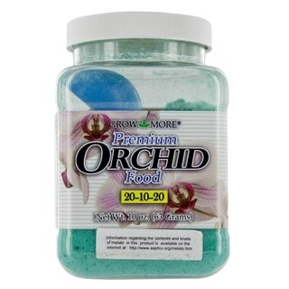 Grow More 5271 10-Ounce Orchid Food 20-10-20