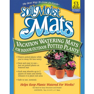 Soil Moist Mats SMVS Soil Moist Vacation Mats