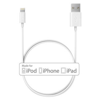 Apple MFI-certified 3.3 feet/1 Meter Mpow 8-pin Lightning to USB Cable Cord for Apple iPhone/iPad