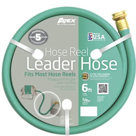 Apex 887-6 6 feet Hose Reel Leader Hose