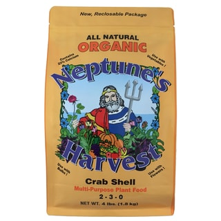 Neptune feets Harvest CS604 4-Pound Organic Crab Shell Multi-Purpose Plant Food
