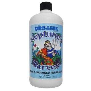 Neptune feets Harvest FS118 18-Ounce Fish & Seaweed Blend Fertilizer 2-3-1
