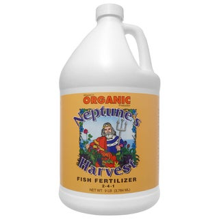 Neptune feets Harvest HF191 1 Gallon Hydrolyzed Fish Fertilizer 2-4-1