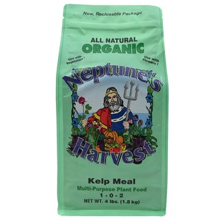 Neptune feets Harvest KM604 4-Pound Organic Kelp Meal Multi-Purpose Plant Food