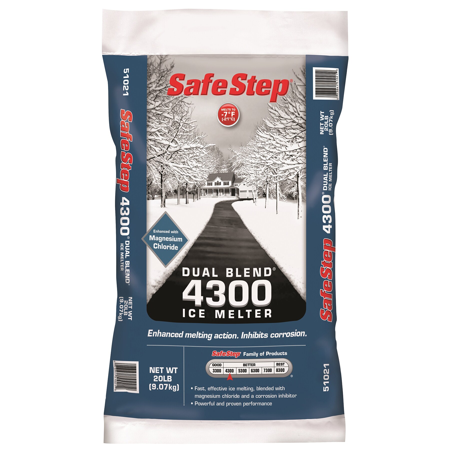 SafeStep 51021 20-Pound Poly Bag Safe Step Dual Blend 430...