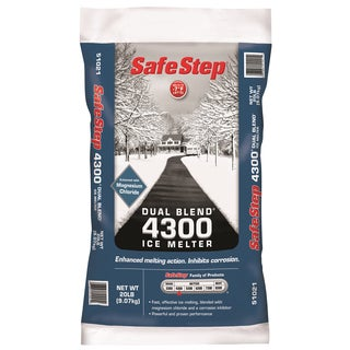 Safe Step 51021 20-Pound Poly Bag Safe Step Dual Blend 4300 Ice Melter