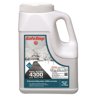 Safe Step 51088 12-Pound Jug Safe Step Dual Blend 4300 Ice Melter