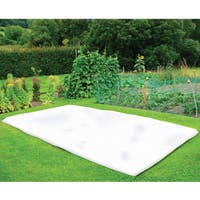 Nuvue 20299 42 inches x 25 feet White Synthetic Fleece Winter Blanket Roll