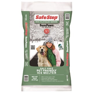 Safe Step 56720 20-Pound Poly Bag Eco Plantinum Series Sure Paws Ice Melter