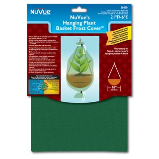 Nuvue 30400 28 inches x 40-inches Hanging Flower Basket Frost Cover