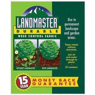 Easy Gardener 301051 3 feet x 100 feet Landmaster Durable Weed Control Fabric