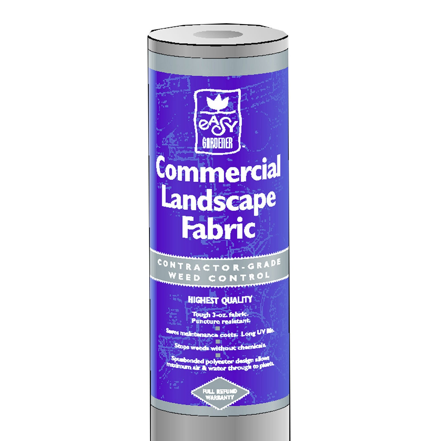 Easy Gardener 2504 Commercial Weed Block Landscape Fabric, 3 X 50-ft.