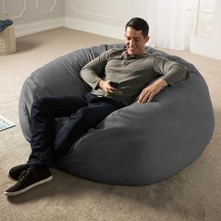 Link to Jaxx 5-ft. Giant Bean Bag Chair Similar Items in Kids' & Toddler Furniture