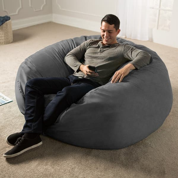 Ja 5 Ft Giant Bean Bag Chair Free Shipping Today