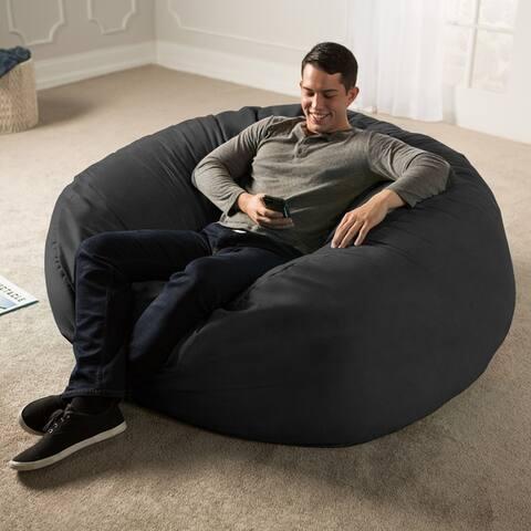 Jaxx 5 ft. Giant Bean Bag Chair