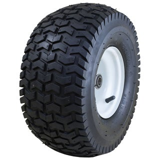 Marathon Industries 20346 15 X 6.50-6 Inches Pneumatic Turf Lawn Mower Tire