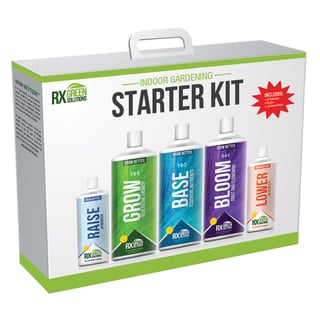 Rx Green Solution RX3PSKIT16 Gardening Starter Kit
