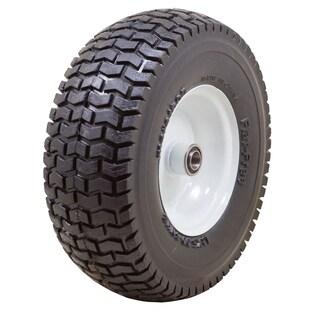Marathon Industries 30326 13 X 5.00-6 Inches Turf Tread Lawn Mower Flat Free Tire
