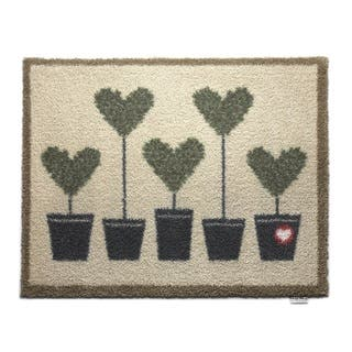 Hug Rug Eco-Friendly Dirt Trapper Potted Hearts Washable Accent Rug (2'1.5 x 2'9.5)|https://ak1.ostkcdn.com/images/products/12412357/P19231187.jpg?impolicy=medium