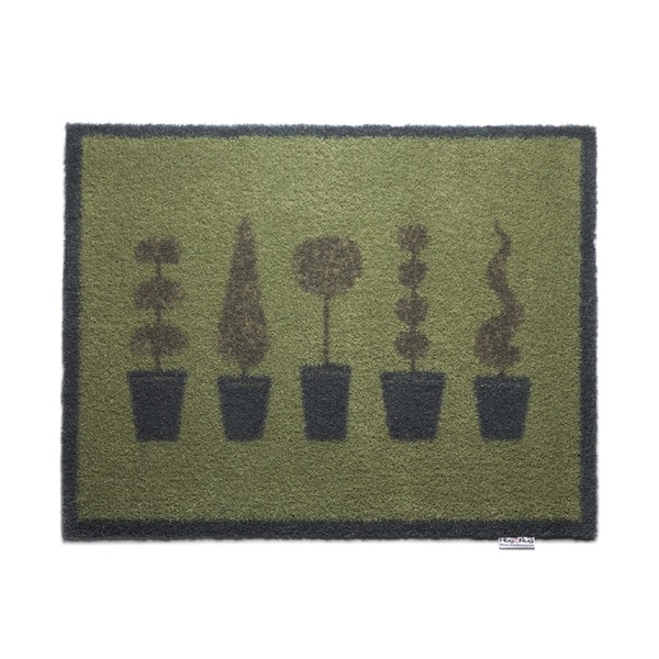 hug rug eco friendly dirt trapper potted topiary washable. Black Bedroom Furniture Sets. Home Design Ideas