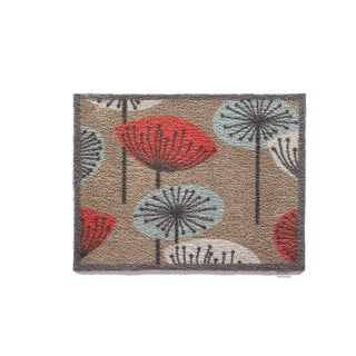Hug Rug Eco-Friendly Dirt Trapper Flowers Washable Accent Rug (2'1.5 x 2'9.5)
