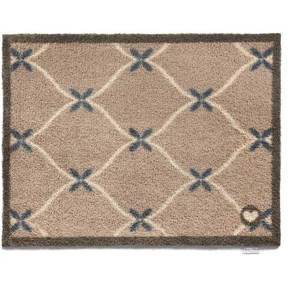 Hug Rug Eco-Friendly Dirt Trapper Trellis Washable Accent Rug (2'1.5 x 2'9.5) - 2'2 x 3'