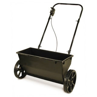 Precision Products DS1000KDGY Drop Spreader - Black