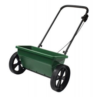 Precision Products DS4500RDGY Deluxe Step Up Drop Spreader - Green