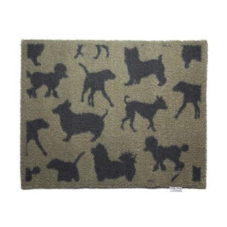 Hug Rug Eco-Friendly Dirt Trapper Dog Themed Washable Accent Rug (2'1.5 x 2'9.5)