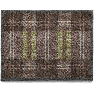 Hug Rug Eco-Friendly Dirt Trapper Dugdale Tartan Washable Accent Rug (2'1.5 x 2'9.5)