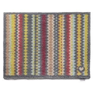 Hug Rug Eco-Friendly Dirt Trapper Designer Stripes Washable Accent Rug (2'1.5 x 2'9.5)