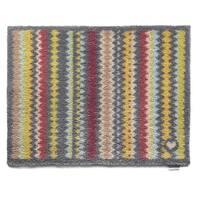 Hug Rug Eco-Friendly Dirt Trapper Designer Stripes Washable Accent Rug (2'1.5 x 2'9.5) - 2'2 x 3'