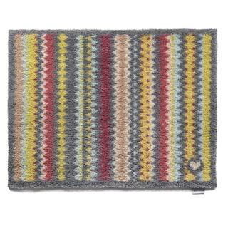 Hug Rug Eco-Friendly Dirt Trapper Designer Stripes Washable Accent Rug - 2'2 x 3'