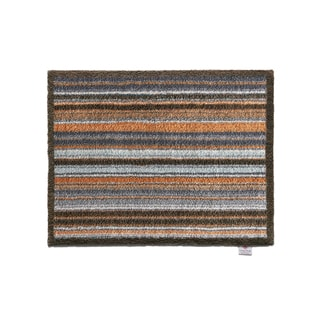 Hug Rug Eco-Friendly Dirt Trapper Horizontal Stripes Washable Accent Rug (2'1.5 x 2'9.5)