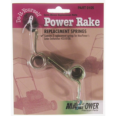 Precision Maxpower 330105 2 Pack Power Rake Replacement S...