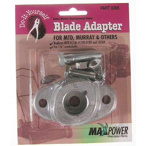 Precision Maxpower 330205 Blade Adapter Kit MTD Pack (Law...
