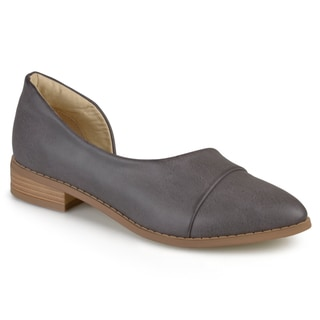 Journee Collection Women's 'Laken' D'Orsay Almond Toe Flats