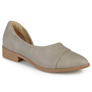Journee Collection Women's 'Laken' D'Orsay Almond Toe Flats https://ak1.ostkcdn.com/images/products/12412478/P19231287.jpg?_ostk_perf_=percv&impolicy=medium
