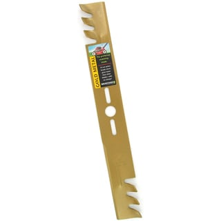Maxpower 331981SH 21 inch Universal Gold Commercial Mulching Blades