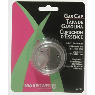 Maxpower 334221 1-1/2 Inches Vented Gas Cap