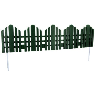 Easy Gardener 863 22 Inches Forest Green Adirondack Landscape Border