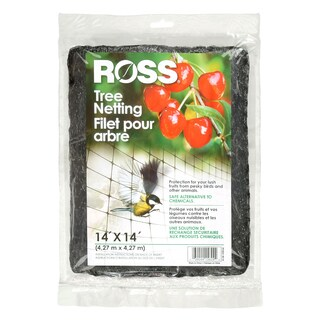 Ross 15624 14 feet x 14 feet Tree Netting