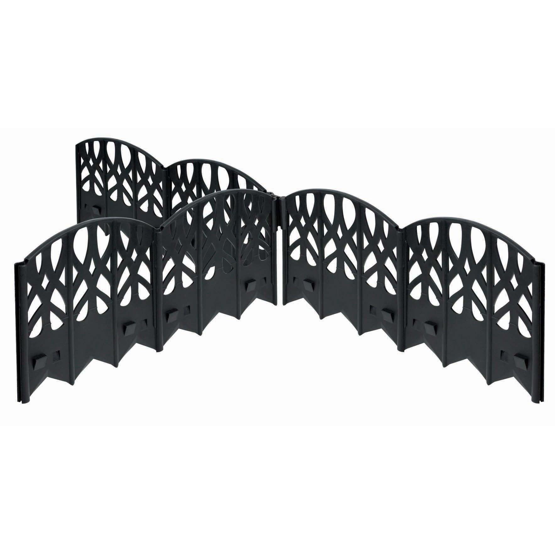 EMSCO Group 3020 20 feet Black Elegant Edging Landscape E...