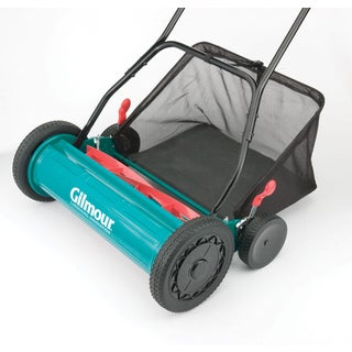 Gilmour RM30 20 Inches Adjustable Hand Reel Mower With Grass Catcher